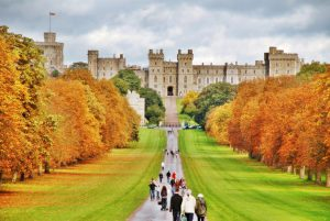 AMAZING VIEW OVER THE WINDSOR CASTLE, WINDSOR